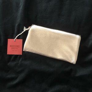 Metallic gold clutch/purse